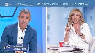 Myrta Merlino ci parla di riaperture - Quelli che il calcio 18/04/2021