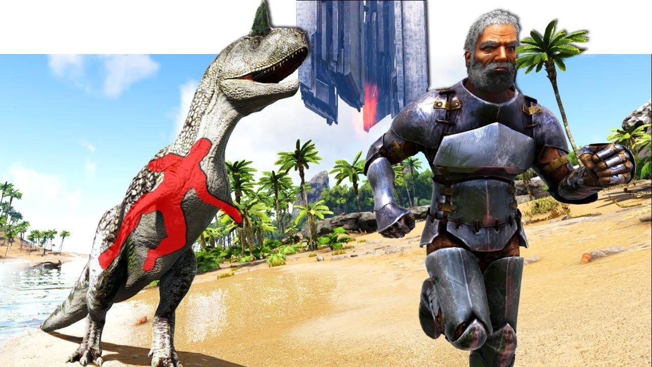 ARK SPEEDRUNNER vs JÄGER (Dino)
