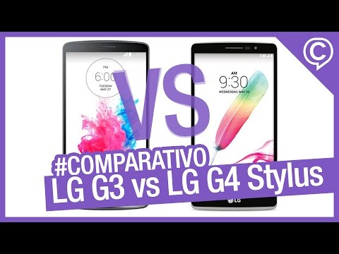Comparativo Rápido LG G3 vs LG G4 Stylus