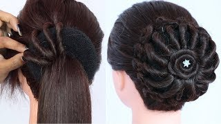 new twisted juda hairstyle || hairstyle for wedding guest || updo hairstyles || new hairstyles
