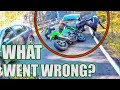 We Check Out some Hectic Road Bike Crashes & Motorcycle Mishaps