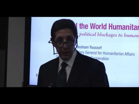 HPG annual lecture: Beyond the World Humanitarian Summit -  Keynote Speech
