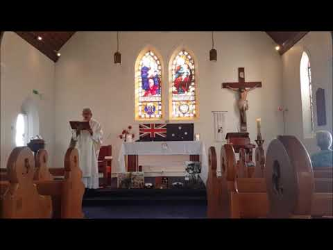 Anzac Day Mass - St Mary Star Of The Sea 2020
