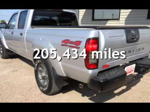 2004 nissan frontier xe v6 crew cab 4x4 for sale in lexington ne youtube. Black Bedroom Furniture Sets. Home Design Ideas