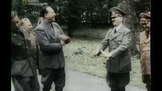 Вторая Мировая война! Война в Европе! Цветные кадры кинохроники!