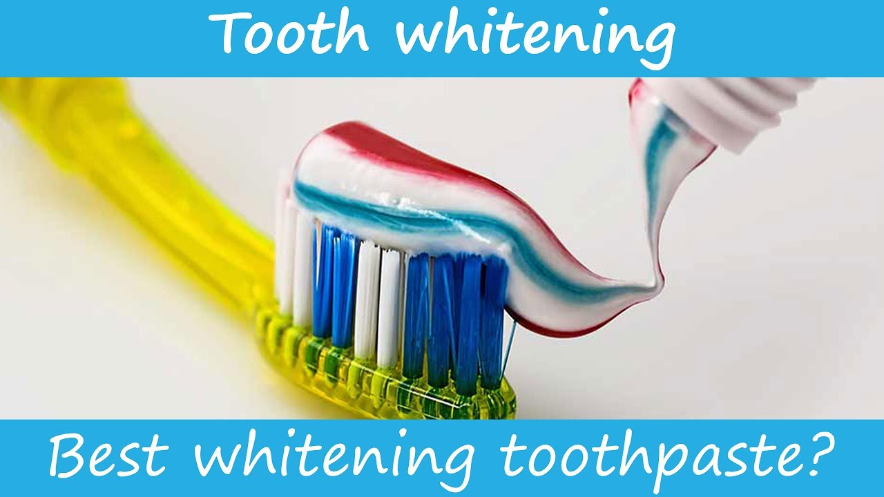 What S The Best Whitening Toothpaste Youtube