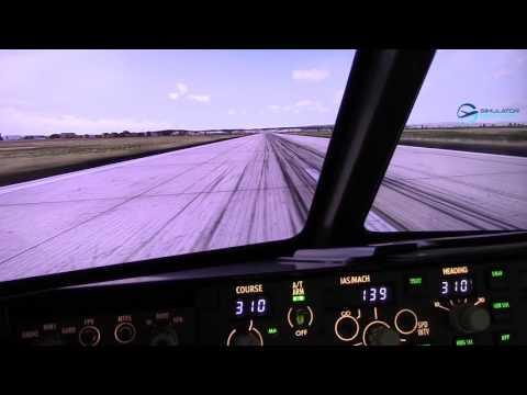 LZIB RWY 31 Take off and landing autoland