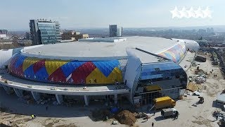 Crystal Ice Arena will shine with all colors ✨ - 29th Winter Universiade Krasnoyarsk 2019