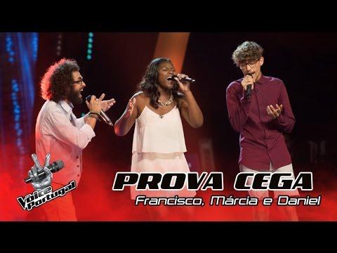 "Francisco Márcia e Daniel - ""I Am Not The Only One""  Provas Cegas  The Voice Portugal"