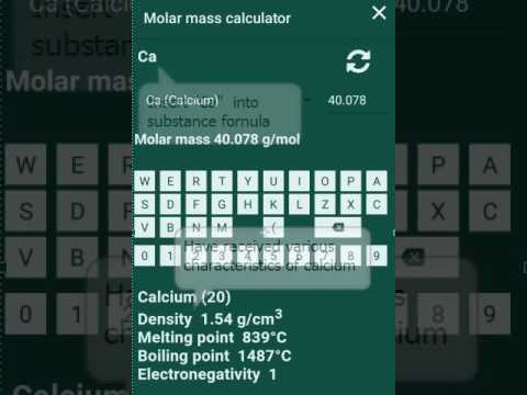 Molar mass calculator periodic table apps on google play urtaz Gallery