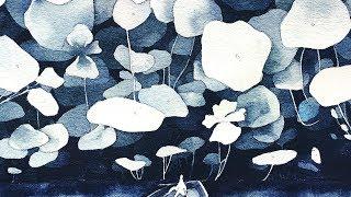 Lily Forest Speedpaint! ( Negative Painting technique!)