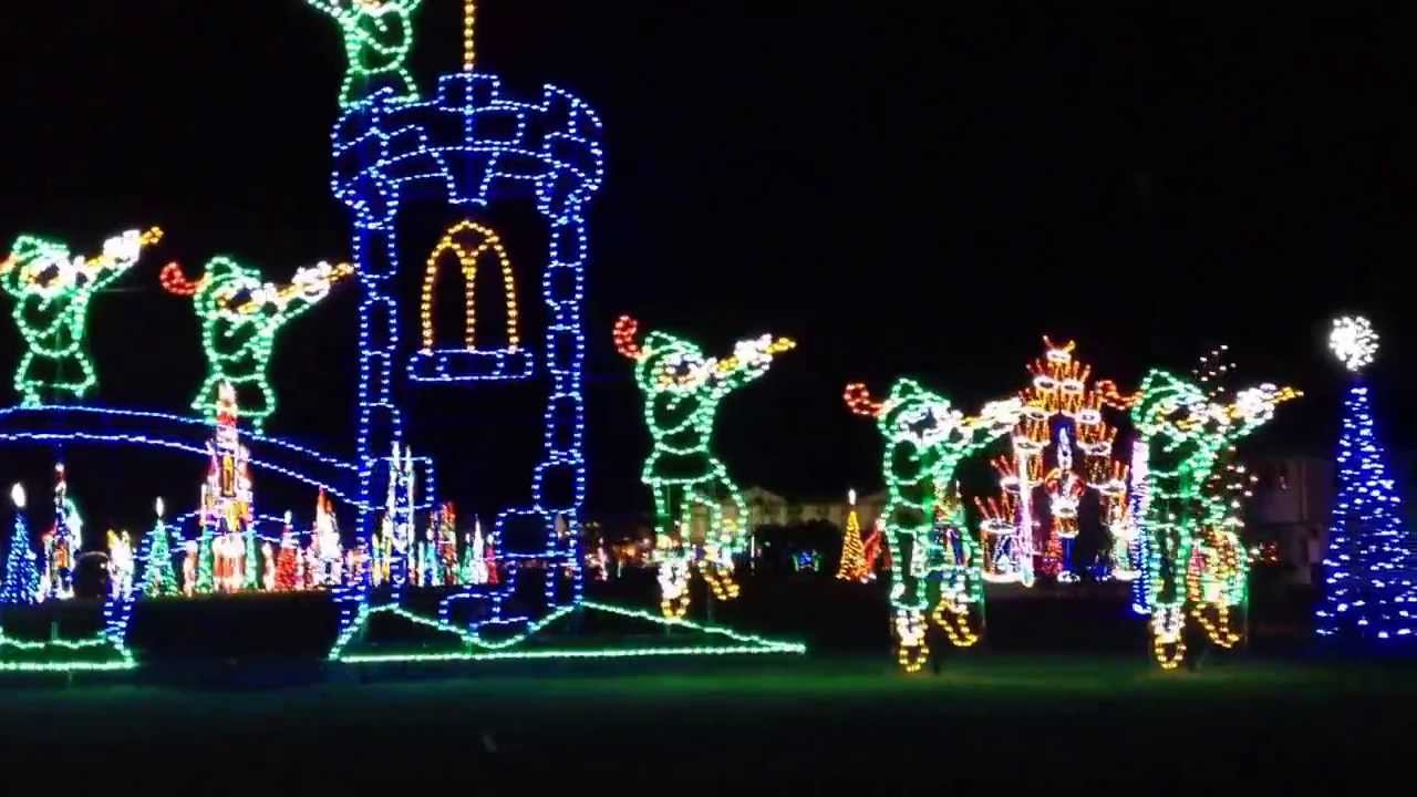 Ocean City Md. Nov 23, 2013 Winterfest of Lights! - YouTube