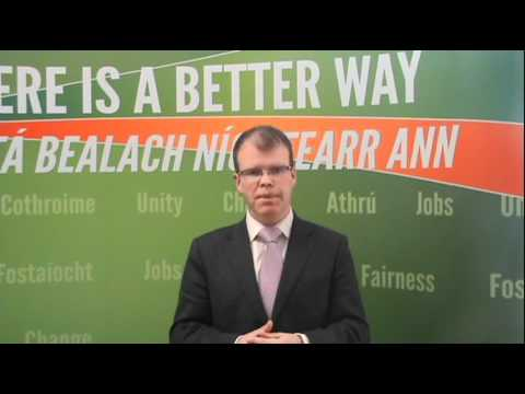 Peadar Tóibín - Opportunites for young entrepreneurs