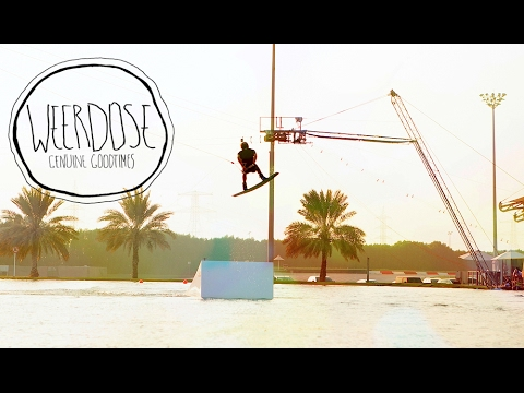Awesome Wakeboarding @ Al Forsan Cable Park || DJI Mavic & Sony a6500 // Weerdose Ep. 2
