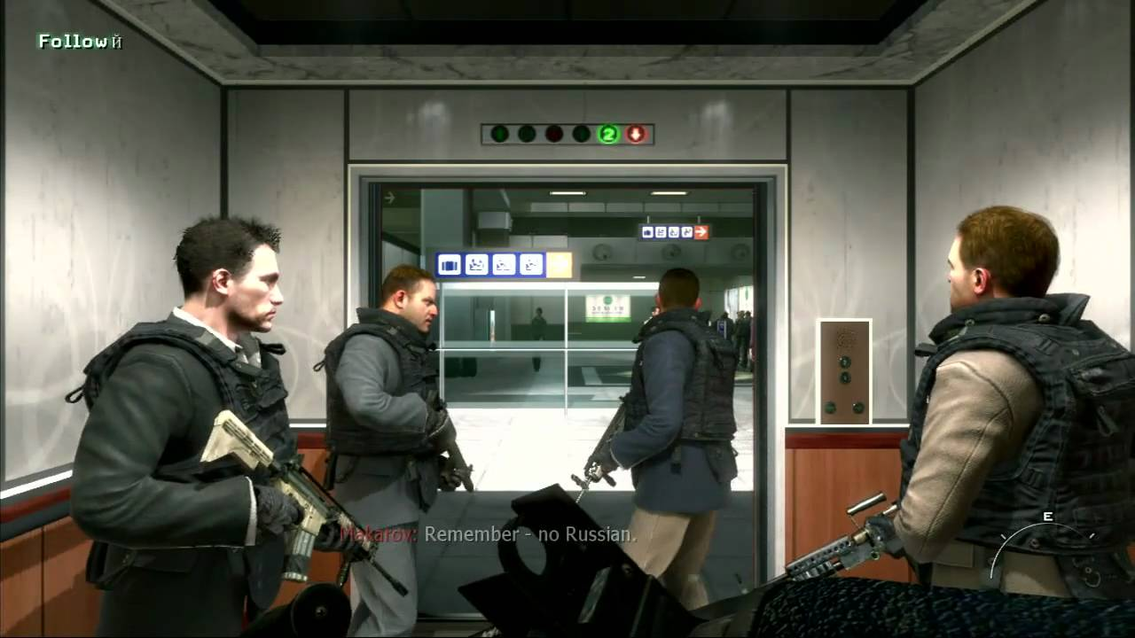 "Lens of Truth: Modern Warfare 2 - ""No Russian"" Airport ... Ryan Phillippe Series"
