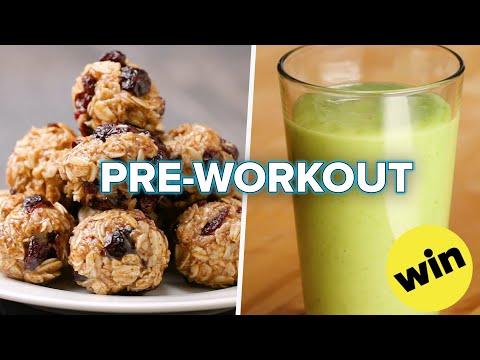 Easy To Make Pre-Workout Snacks