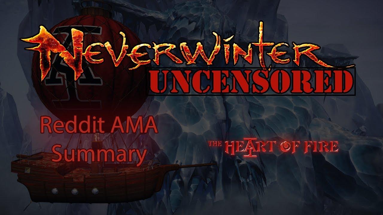 Systems Design Reddit AMA Summary - Neverwinter:Unblogged