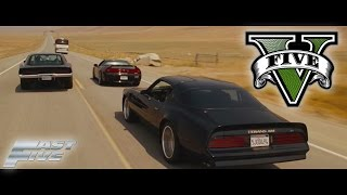 GTA V FAST AND FURIOUS 5 - INTRO SCENE REMAKE PS4