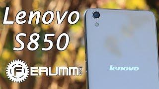 Lenovo S850 подробный обзор. Особенности, сильные и слабые места Lenovo S850 от FERUMM.COM