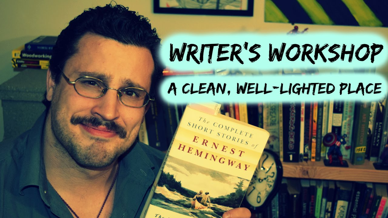 "an analysis the main themes in a clean well lighted place by ernest hemingway Analysis ""a clean, well lighted place"" is hemingway's paean to a type of existential nihilism, an exploration of the meaning, or lack thereof, of existence it clearly expresses the philosophy that underlies the hemingway canon, dwelling on themes of death, futility, meaninglessness, and depression."