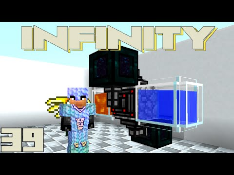 Minecraft Mods FTB Infinity - CRAZY COMPRESSED COBBLESTONE [E39] (HermitCraft Modded Server)