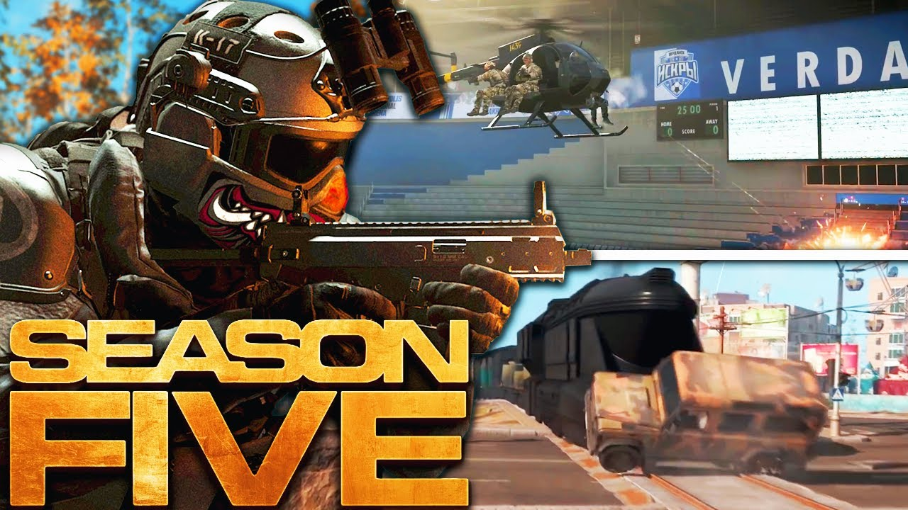 Modern Warfare The Huge Season 5 Reveal Warzone Map Changes New Weapons More Youtube