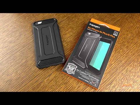 brand new 24192 3e222 iPhone 6s Plus Rugged Capsule Spigen Case Review