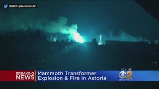 Transformer Explodes At Con Edison Substation In Queens