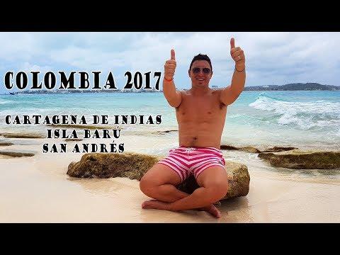 Cartagena/Isla Barú/San Andrés - Colombia - Marzo 2017 - Gopro Hero 4 (Ver en 1080 HD)