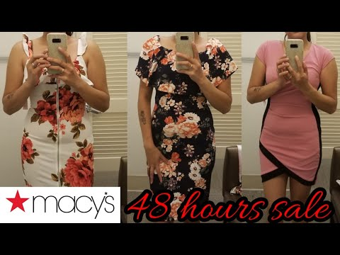 MACYS DRESSES AND LADIES WEAR   48 Hours Sale   Spokane Washington   Marylan Ehl