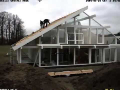 DAVINCI HAUS - a house in three days - YouTube