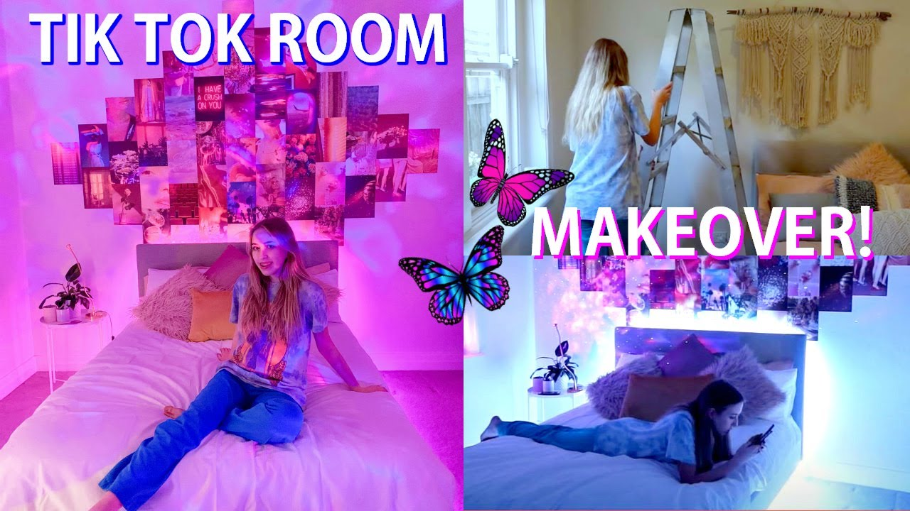 Redoing My Room Ultimate Tik Tok Room Transformation Room Tour Youtube