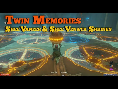 Legend Of Zelda Breath Of The Wild Shee Vaneer Shrine
