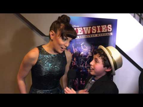 Live From The Newsies Movie Event Red Carpet