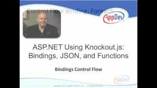 ASP.NET Using Knockout.js: Bindings, JSON and Functions (Full)