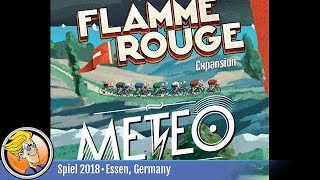 Flamme Rouge: Meteo — game overview at SPIEL '18