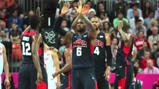 USA Vs Lithuania Highlights Basketball Summer Olympics 2012 USA Wins 99 94