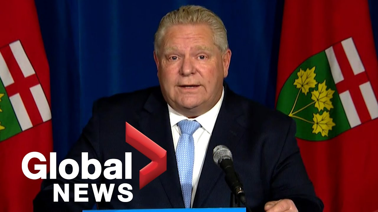 Coronavirus Ontario Premier Ford Discusses Ongoing Vaccine Rollout Plan Future Vaccines Full Youtube