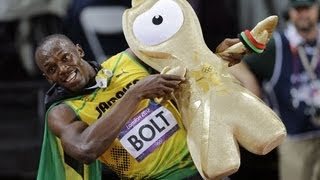 Best Olympic Moments of 100m Race By Bolt