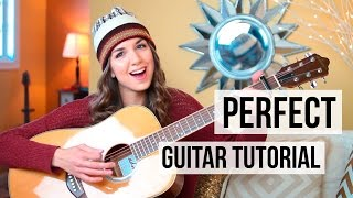 Perfect - Ed Sheeran // Guitar Tutorial (Picking & Strumming)