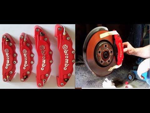 Assembly install tutorial cover BREMBO brake all cars