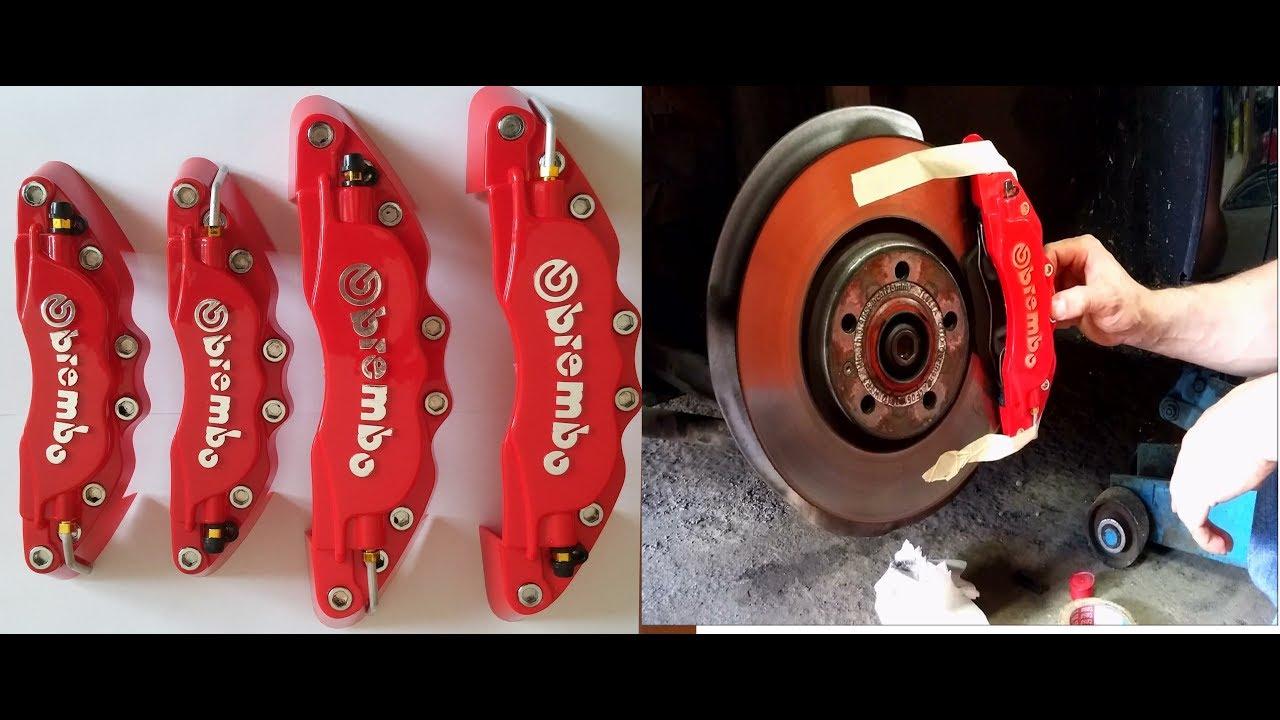 Brembo Brake Pads >> Assembly install tutorial cover BREMBO brake all cars ...
