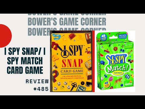 Bower's Game Corner #485: I Spy Snap Review
