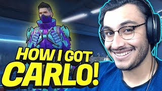 NEW CHARACTER CARLO AND HOW I GOT IT (0.17.0 NEW UPDATE) | PUBG MOBILE HIGHLIGHTS | RAWKNEE
