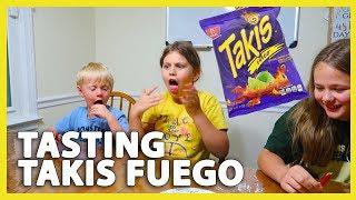TASTING TAKIS FUEGO (6/19/18 - 6/20/18)