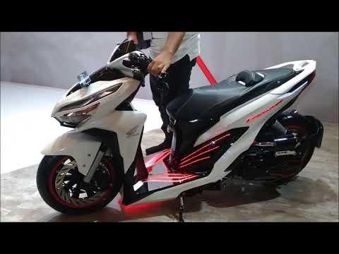 Modifikasi Honda All New Vario 150 Extreme Low Rider, Edan! Pakai Air Suspension!