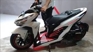 Modifikasi Honda All New Vario 150 Extreme Low Rider, Edan! Pakai Air Suspension!