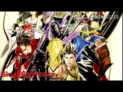 [Nightcore] - Naked Arms (OP Sengoku Basara 3)
