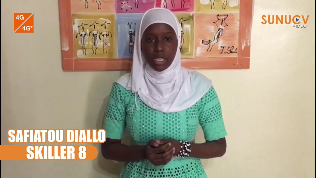 skiller  8  jury licence  safiatou diallo demi-finaliste sunu cv video