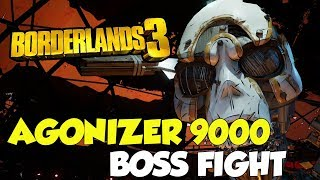 Borderlands 3 Agonizer 9000 Boss Fight (Solo) YouTube Videos